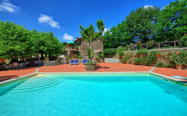 Casale San Martino, Villa for rent in Catrosse, Tuscany