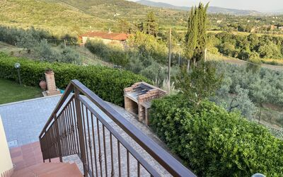 Villa Arianna - Tuscany Views: Balcony View