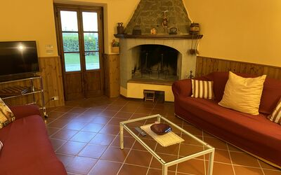 Villa Arianna - Tuscany Views: Fireplace