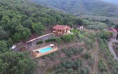 Villa Arianna - Tuscany Views: Villa Top View