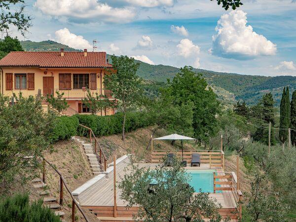 Villa Rigutino, Villa for rent in Rigutino, Tuscany
