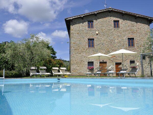 Villa Claudia, Villa for rent in Montegonzi, Tuscany