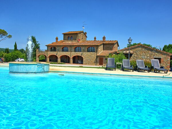 Villa Elsa, Villa for rent in Poschini, Tuscany