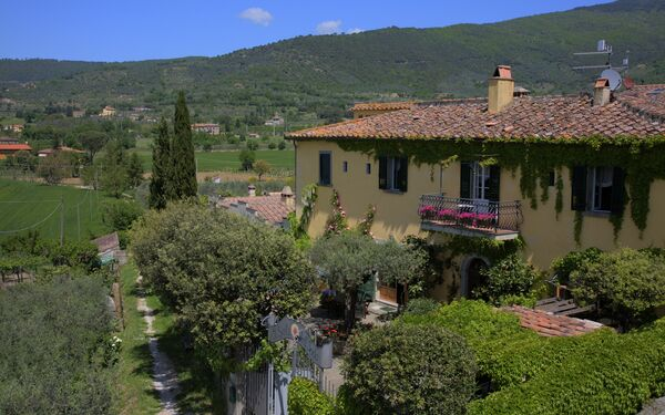 Villa Toppani Del Sodo, Villa for rent in Sodo, Tuscany