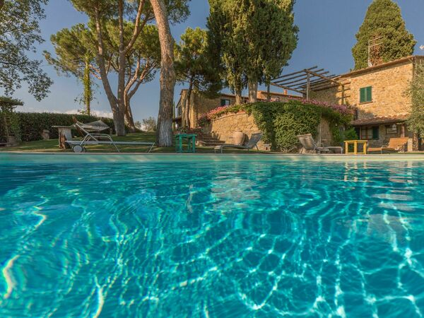 Villa Poggiospinoso, Villa for rent in Lucignano, Tuscany