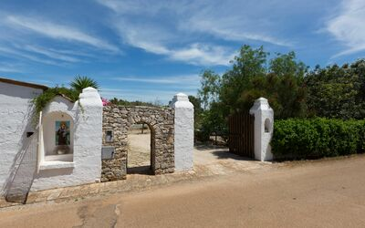 Masseria Pagliamonte: Entrance