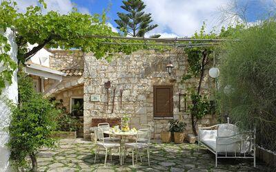 Masseria Pagliamonte: Garden