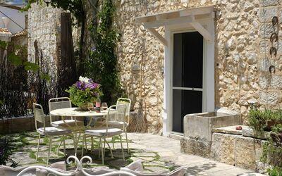 Masseria Ortensia: Outdoor space for private use