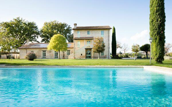 Villa Apollinare, Villa for rent in Papiano, Umbria