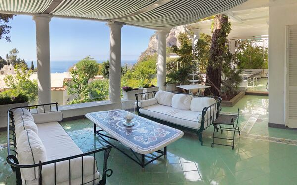 Villa Prestige '50, Villa for rent in Capri, Campania