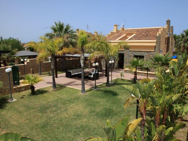 Sicílie, Mazzaforno, Villa Pana