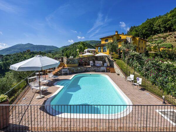 Villa Sole, Villa for rent in Cantagrillo, Tuscany