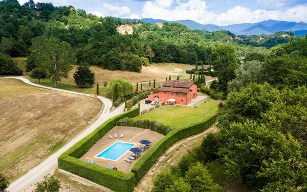 Villa Casa Rossa, Villa for rent in Rota, Tuscany