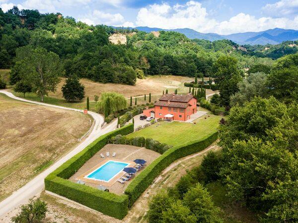 Toskánsko, Rota, Villa Casa Rossa