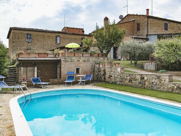 Villa Sul Poggio, Villa for rent in Sinalunga, Tuscany