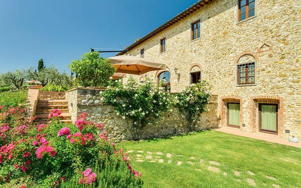Toskánsko, Tavarnelle Val Di Pesa, Villa Sole Del Chianti
