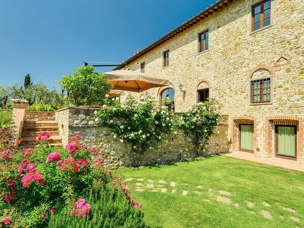 Villa Villa Sole Del Chianti in affitto a Tavarnelle Val Di Pesa