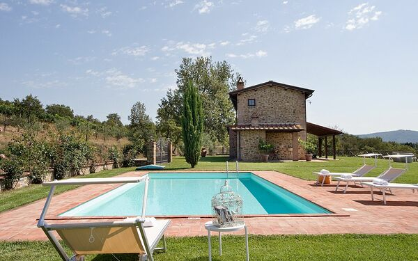 Villa Miravalle, Villa for rent in Pietraviva, Tuscany