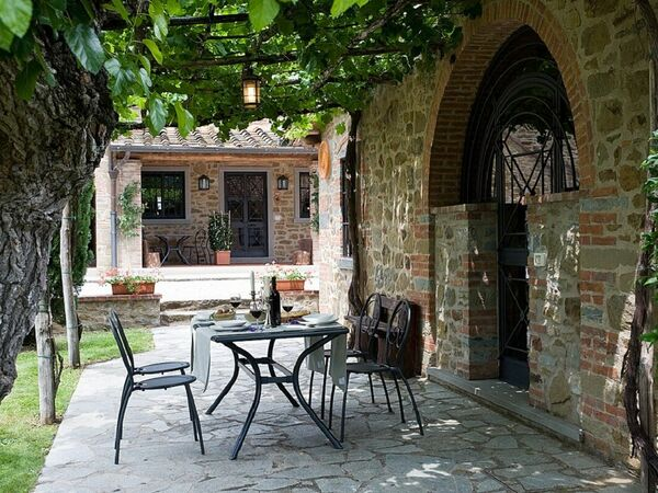 Cottage Capanna, Holiday Home for rent in Pietraviva, Tuscany