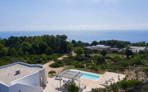 Villa Bianca, Villa for rent in Gagliano Del Capo, Apulia