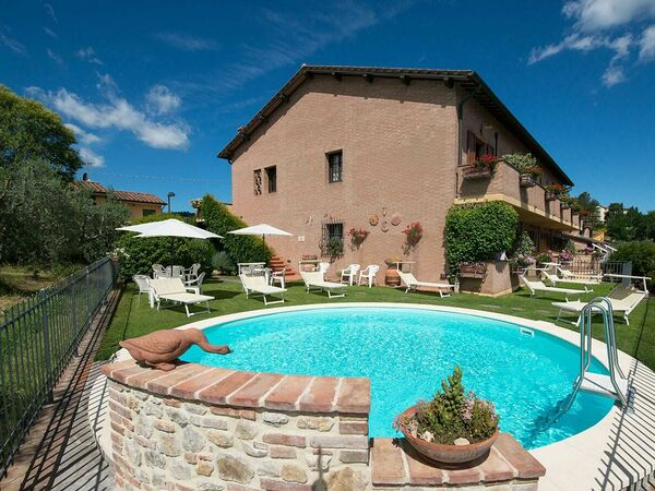 Francigena, Apartment for rent in Pancole, Tuscany