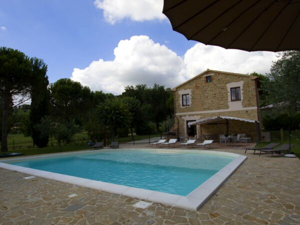 Casa Capovilla, Villa for rent in San Flaviano, The Marches