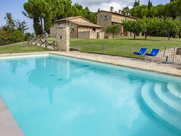 Villino Cinque Colonne, Villa for rent in Gaglietole, Umbria