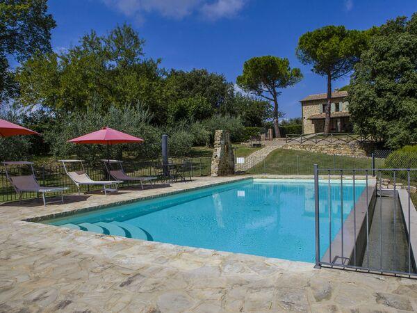 La Casa Sul Poggio, Villa for rent in Ceralto, Umbria