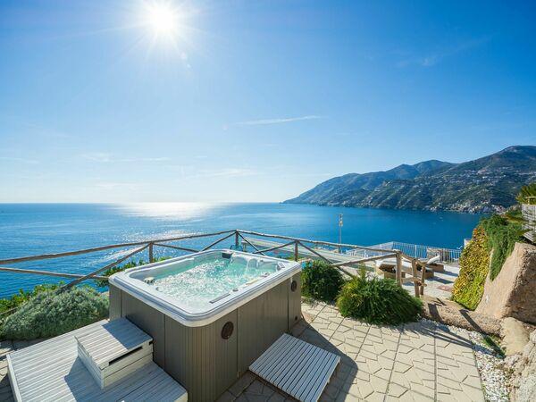 La Dimora Che Domina, Villa for rent in Maiori, Campania