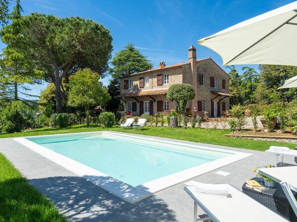 Toskánsko, Gambassi Terme, Villa Gabry