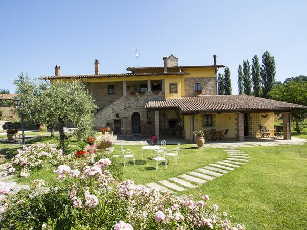 Casale Del Tempo, Villa for rent in Trestina, Umbria