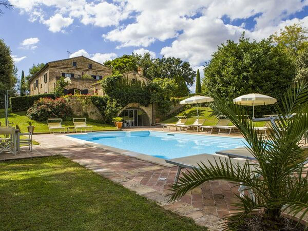 Antica Residenza Nel Parco, Villa for rent in San Liberio, The Marches