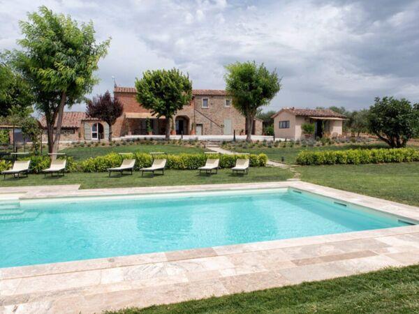 Villa Milluzzi, Villa for rent in Ronzano, Tuscany