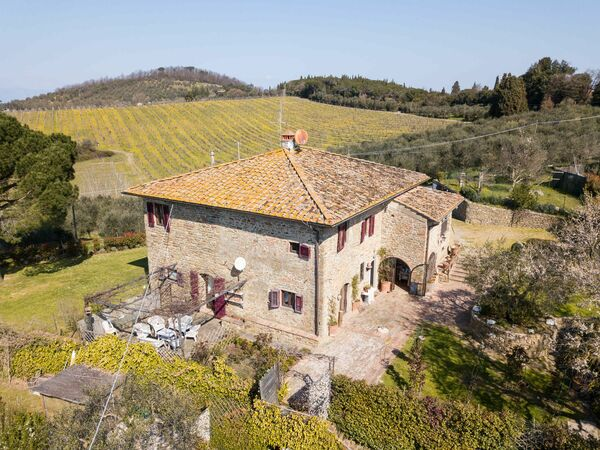 Villa Croce, Villa for rent in Scandicci, Tuscany