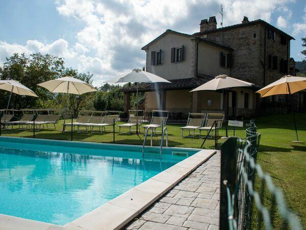 Umbrie, Bonsciano, Villa Dell' Aviatore