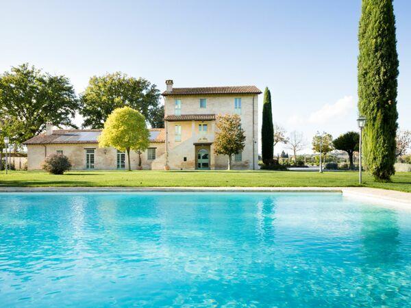 Villa Papiano, Villa for rent in Papiano, Umbria