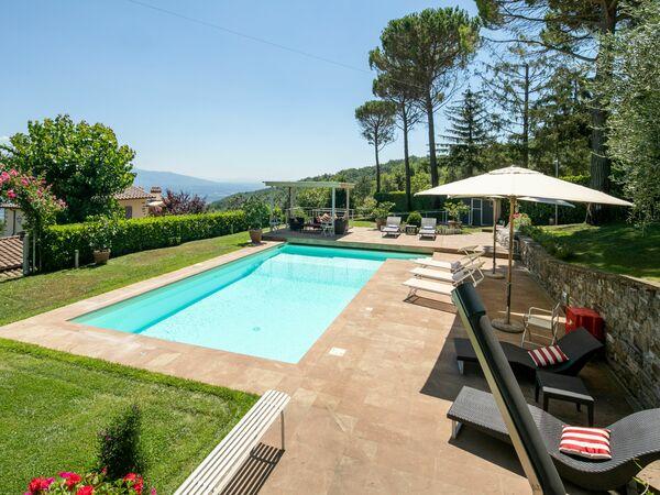 Villa Fico e Faeto 10 in  San Donato In Collina -Toskana