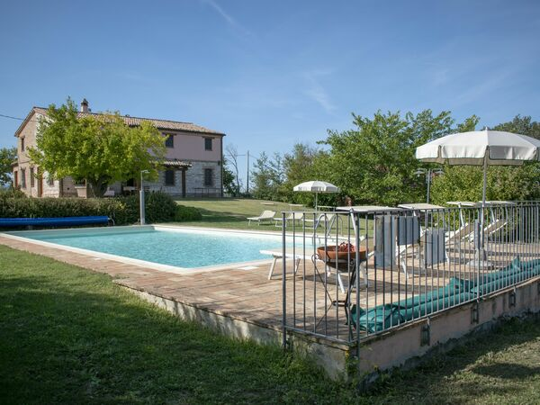 Casa Del Villaggio Contrada, Villa for rent in Arcevia, The Marches