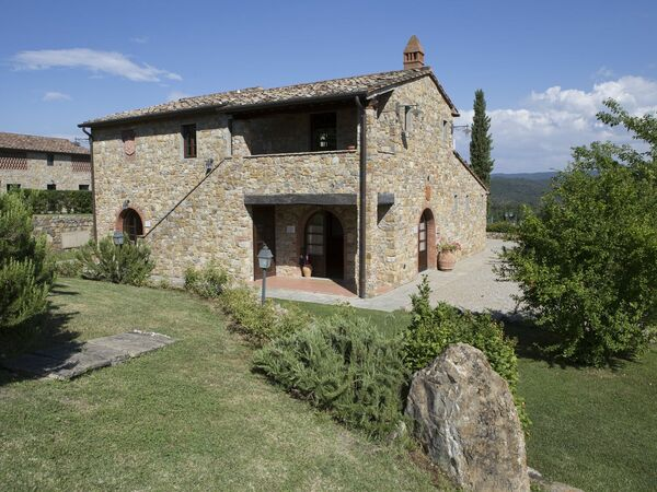 Resort Ambra Toscana, Villa for rent in Panzano, Tuscany