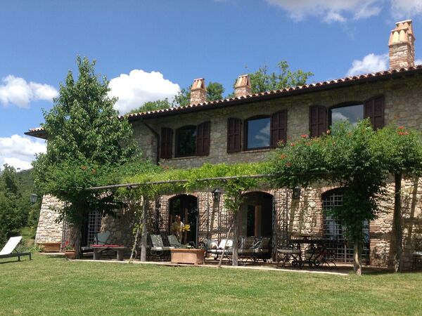 Casale Chiardiluna, Villa for rent in Massa Martana, Umbria