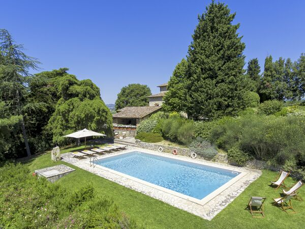 Villa Agresto, Villa for rent in San Regolo, Tuscany