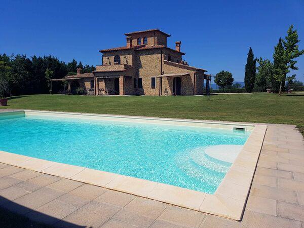 Lo Scrigno Del Trasimeno, Villa for rent in Ranciano, Umbria