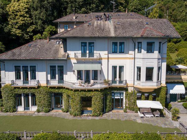 Villa Dei Due Draghi, Villa for rent in Belgirate, Piedmont
