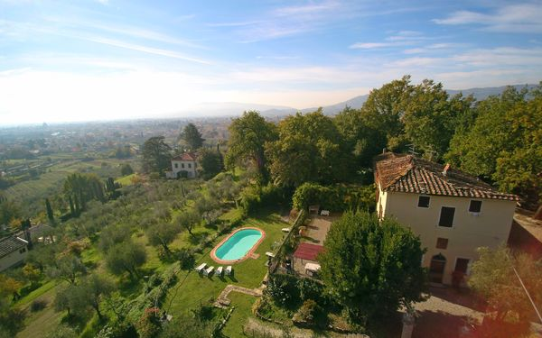 Villa Argento, Villa for rent in Pistoia, Tuscany