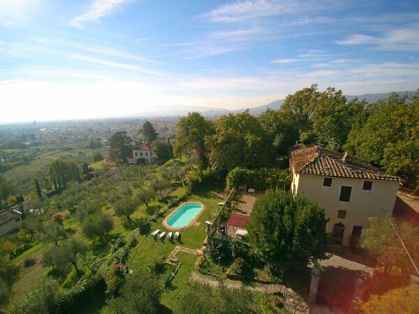 Villa Argento, Villa for rent in Pistoia, Tuscany