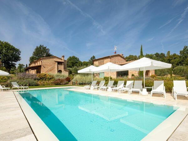 Fonte Della Chiana, Villa for rent in Foiano Della Chiana, Tuscany