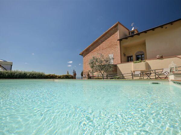 Villa Vista Su Montaione in affitto a Montaione