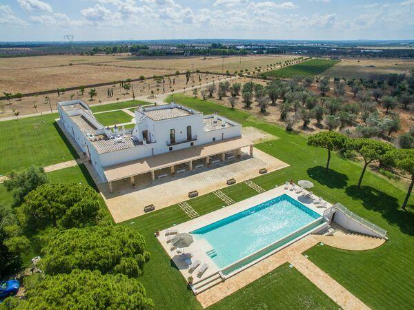 Villa Masseria Melograni in affitto a Nardò