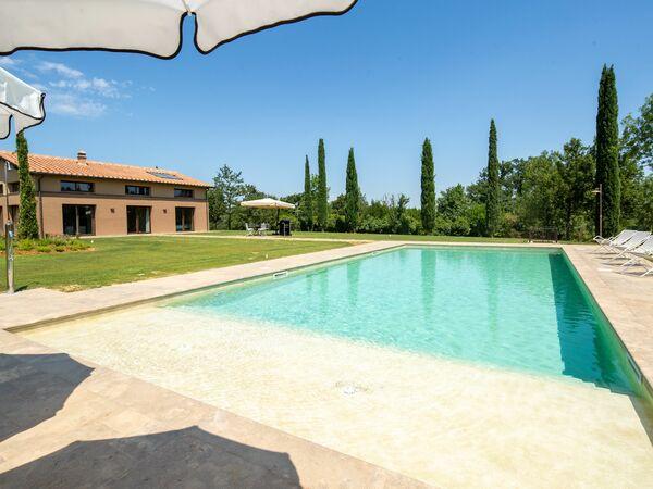 Toskánsko, San Gimignano, Villa Elly