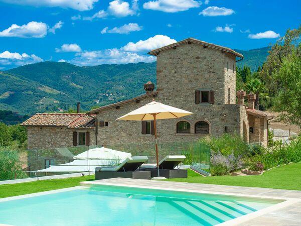 La Colonica Delle Donne, Villa for rent in Panzano In Chianti, Tuscany